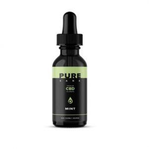 PureKana Mint-flavored CBD Oil