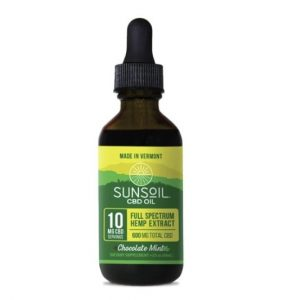 Sunsoil Chocolate Mint CBD Oil
