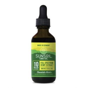Sunsoil Chocolate Mints CBD Oil