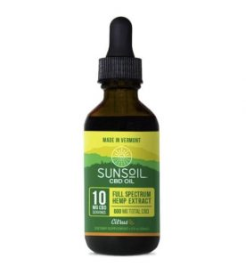 Sunsoil Citrus CBD Oil