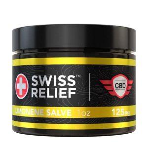 Swiss Relief CBD Salve Limonene