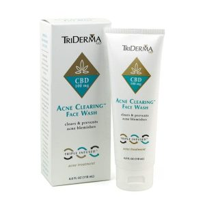 TriDerma CBD Acne Clearing Face Wash