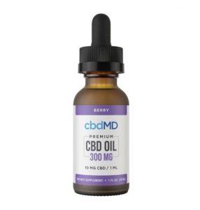 cbdMD Berry-Flavored CBD Oil
