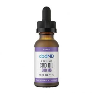 cbdMD Berry Flavored CBD Oil