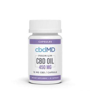 cbdMD Premium CBD Capsule