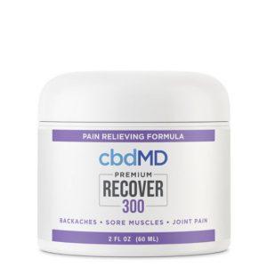 cbdMD Premium Recover CBD Cream Best CBD Creams