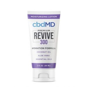 cbdMD Premium Revive Moisturizing Lotion