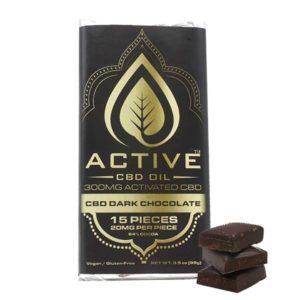 Active CBD Dark Chocolate