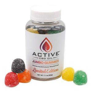 Active CBD Oil Jumbo Gummies