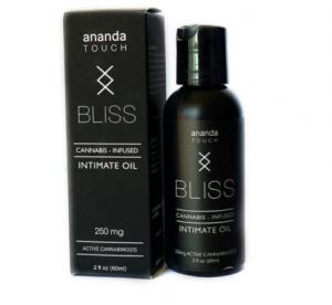 Ananda Touch Bliss Intimate Oil 250mg CBD