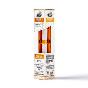 CBDfx Disposable Terpenes CBD Pineapple Express Vape Pen Kit