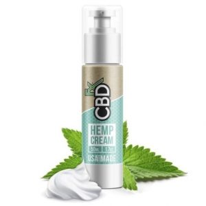CBDfx Hemp Cream Best CBD Cream For Eczema
