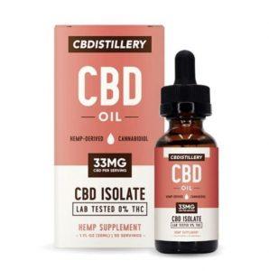 CBDistillery Isolate CBD Oil