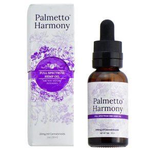 Full Spectrum CBD Tincture Oil From Palmetto Harmony