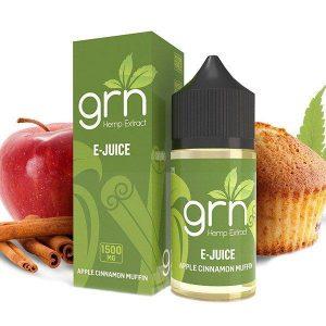 GRN CBD Apple Cinnamon Vape Juice
