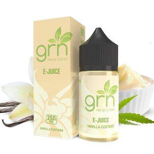 GRN CBD Vanilla Custard Vape Juice