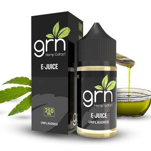 GRN Unflavored CBD Vaping Juice