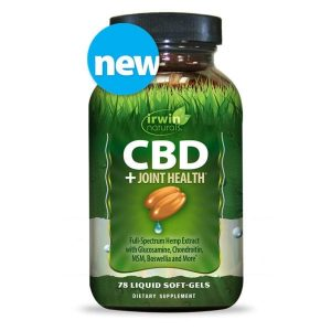 Irwin Naturals CBD Soft Gel Plus Joint Health