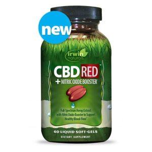 Irwin Naturals CBD Soft-Gels RED®