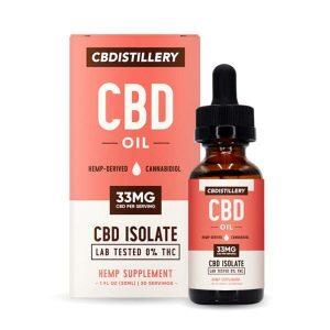 Isolate CBD Oil Tincture By CBDistillery