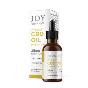 Joy Organics Summer Lemon Flavor CBD Tincture Oil