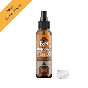 Koi Naturals CBD Hemp Spray For Pets