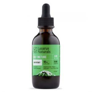 Lazarus Natural High Potency CBD Tincture Oil