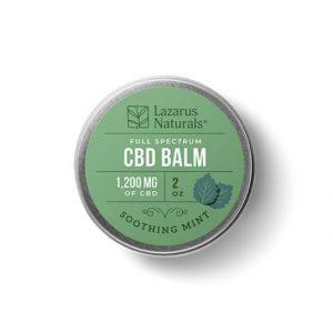 Lazarus Naturals Soothing Mint CBD Balm