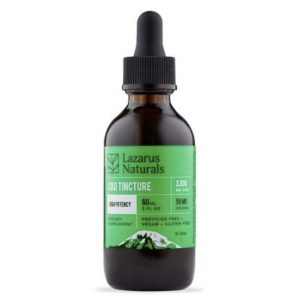 Lazarus Naturals CBD Tincture High Potency