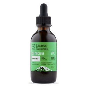 Lazarus Naturals High Potency CBD Tincture Oil Best CBD Oil For Vertigo