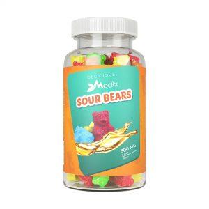 Medix CBD Gummies - Sour Gummy Bears