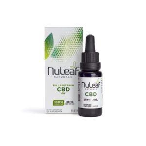 NuLeaf Naturals Full Spectrum CBD Oil 900mg 15ml