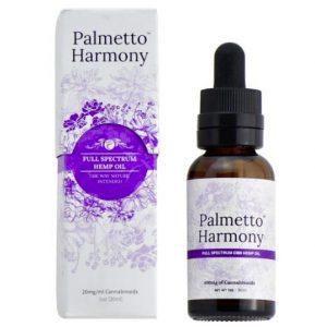 Palmetto Harmony CBD Tincture Oil