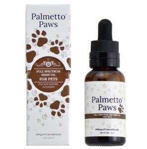 Palmetto Paws CBD Tincture Oil