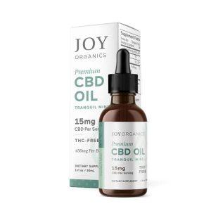 Premium CBD Oil Tranquil Mint By Joy Organics