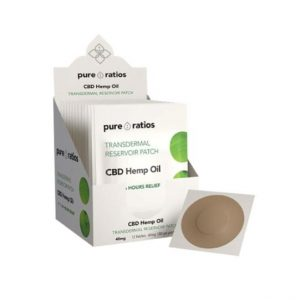 Pure Ratios Transdermal Reservoir Pain Patch