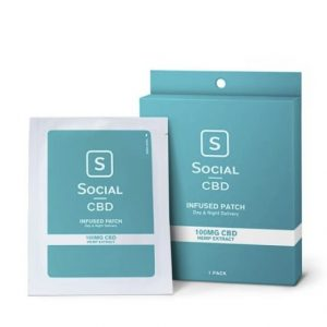 Social CBD Infused Patch
