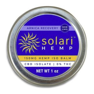 Solari Hemp CBD Arnica Balm