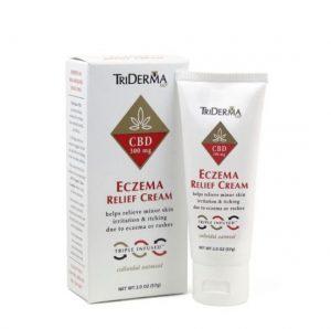 TriDerma MD Eczema Relief CBD Cream