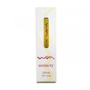 WA Serenity CBD Citrus Vape Pen