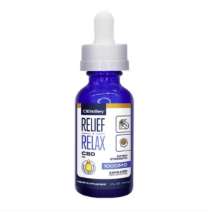 CBDistillery Full Spectrum CBD Oil Tincture