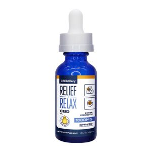 CBDistillery Relief + Relax CBD Oil