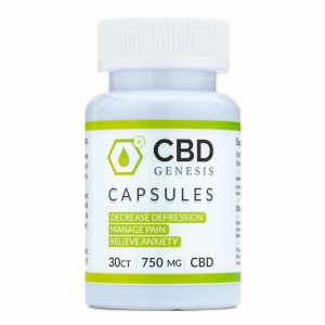 Genesis CBD Capsules (30ct)