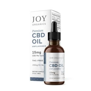 Joy Organics Natural CBD Tincture Oil