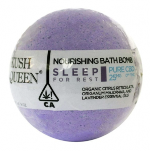 Kush Queen's Sleep CBD Bath Bomb