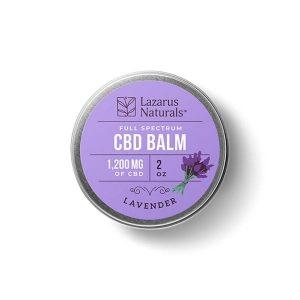 Lazarus Naturals CBD Lavender Balm