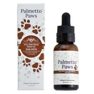 Palmetto Paws Full Spectrum CBD Tincture Oil