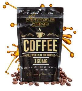 Pinnacle Hemp Full Spectrum CBD Ground Coffee
