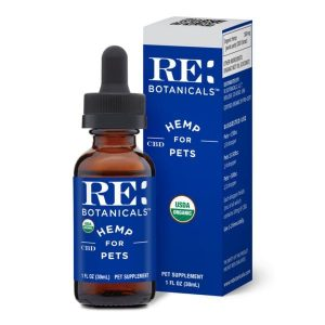RE Botanicals Hemp For Pets Tincture