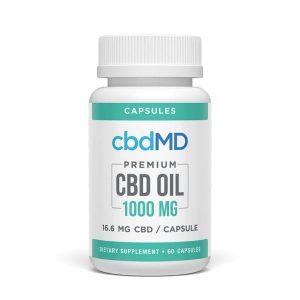 cbdMD CBD Oil Capsules